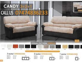Candy 3+2 sofa suite eZM