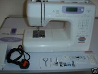 janome memory craft 4800 embroidery sewing machine and instructions