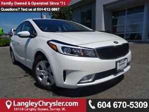 2017 Kia Forte LX W/SAFETY REAR CAMERA & HEATED SEATS