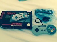 Snes controller boxed official