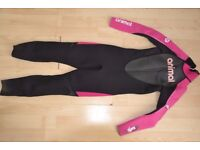 Animal Girls Wetsuit size small (age 8)