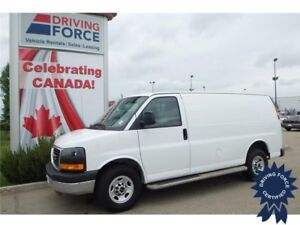2016 GMC Savana Cargo Van Rear Wheel Drive - 19,088 KMs, 4.8L