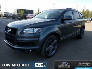 2015 Audi Q7 3.0T Sport  - BLACK - $385.65 B/W - Low Mileage