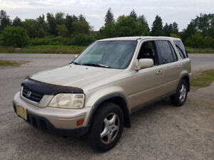Honda CR-V Leather! Cold AC! AS-IS-Cheap!