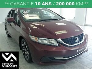 2014 Honda Civic EX **TOIT | BLUETOOTH | MAGS**