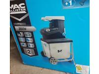 MAC ALLISTER ELECTRIC GARDEN SHREDDER