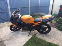Aprilia RS50 - Black and Orange rare, very quick!!