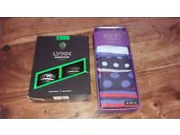New mens boys gift bundle. Box of 5 pairs of socks and lynx Africa shower wash and body spray