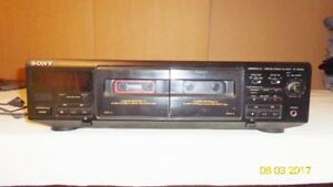 Sony Dual Cassette Player