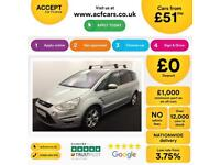 Ford S-MAX Titanium FROM £51 PER WEEK!