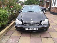Mercedes Benz C200 Black