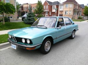1977  BMW 520 Euro model