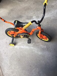 Lil tigger kids bicycle ages 2-5