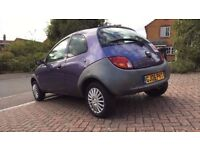 2006 FORD KA 1.2, MOT-JUNE 2018, FULL FORD SERVICE HISTORY, 83K MILEAGE, SUPERB CONDITION,HPI CLEAR