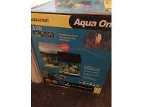 Aqua one fish tank for sale