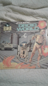 Star Wars Read Along Book and Record: Droid World