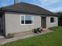 3 BED BUNGALOW OUTSIDE FORRES