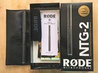 RODE NTG2 SHOTGUN MIC