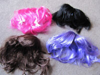 Set of 3 BABW or equivalent bear wigs - £5