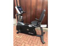 R1 Life Fitness recumbent exercise bike