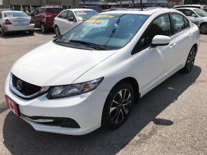 2014 Honda Civic LX SEDAN...REV./BLIND CAMERA..BLUE-TOOTH...MINT