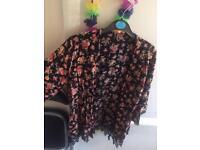 floral kimono size 12