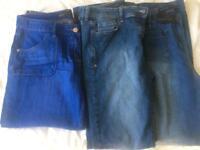 Ladies size 14 jeans x3 pairs