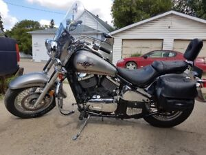 2003 Vulcan Classic 800 with bonus 1983 Virago 500 for free