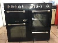 Leisure range electric cooker CK100C210K 100cm black double oven 3 months warranty free local deliv!