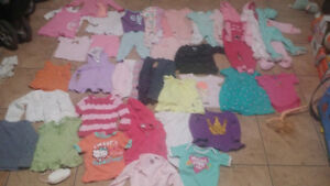 Baby clothes 3-6-9-12 months all under a year