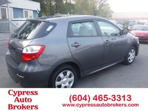 2010 Toyota Matrix (Fully Equipped)