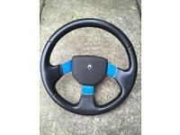Clio 1.8 16V steering wheel