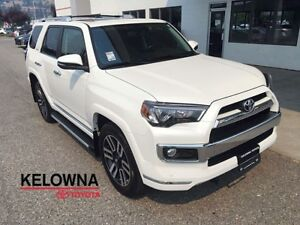 2016 Toyota 4Runner Limited 7 Psg 4WD