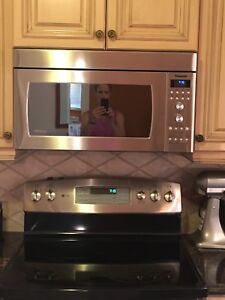 Panasonic Inverter Microwave with exhaust fan- stainless steel