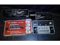 3 Vintage games consoles