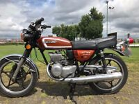 1978 SUZUKI GT185 RUNNING 100% MUST BE SEEN PARTLY RESTORED READY TO GO ONLY £1850 VERY COLLECTABLE