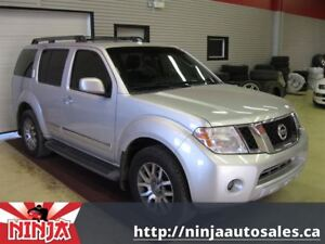 2010 Nissan Pathfinder SE Rare 7 Pass Leather Nav DVD Sunroof