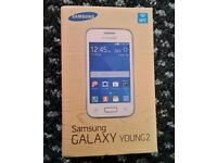 New Samsung Galaxy Young 2 White (unlocked) Android Smartphone SM-G130HN Boxed