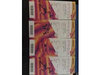 2017 IAAF WORLD ATHLETIC CHAMPS TICKETS x4 - Mon 7th August