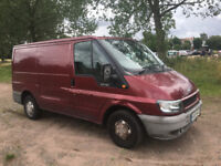 99,000 MILES FORD TRANSIT 2.0TD 2005 - SHORT WHEEL BASE / LOW ROOF - FAMILY OWNED - DRIVES PERFECTLY