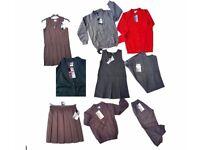 KIDS SCHOOL UNIFORM LOT OF 60 UNIFORMS BRAND ZECO