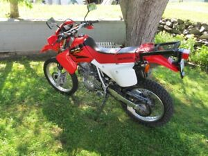 2004 Honda xr650l Street and Trail