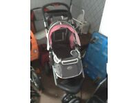 Innopet 3 wheel dog pushchair