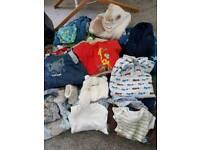 Baby Boy Bundle 0-6 months (40+ items)