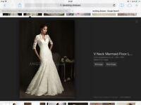 Beautiful lace wedding dress size 14/16
