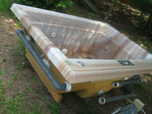 Jacuzzi Tub,motor has already sold separately, just the tub left