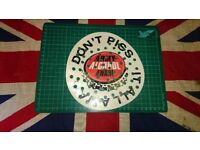British Army Urinal Mat Unused Army Alcohol Aware