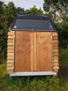 REDUCED! Nice Wood Ice Fishing Hut or Outdoor Storage