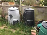 Large compost bin(s)