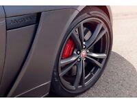 "Genuine New Jaguar F-Type SVR 20"" Forged Wheels with Pirelli P-Zero Tyres - New Set of 4"
